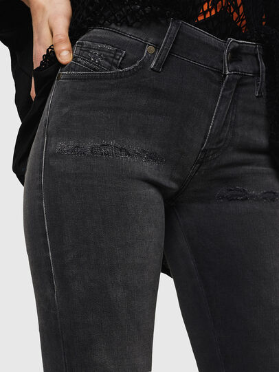 Diesel - Slandy 069GI, Black/Dark grey - Jeans - Image 3
