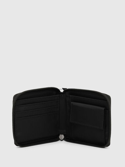 Diesel - ZIPPY HIRESH S II, Black - Small Wallets - Image 3