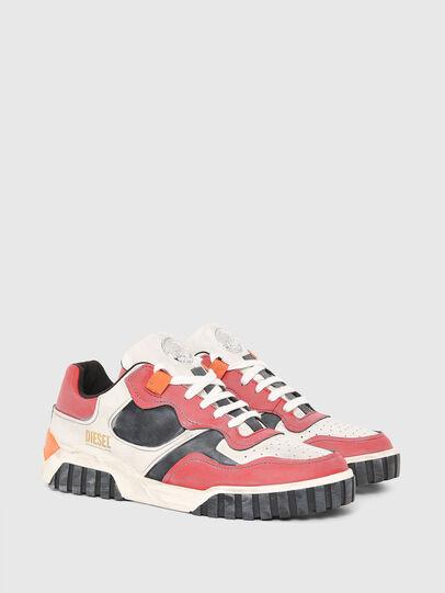 Diesel - S-RUA LOW SK, White/Red - Sneakers - Image 2
