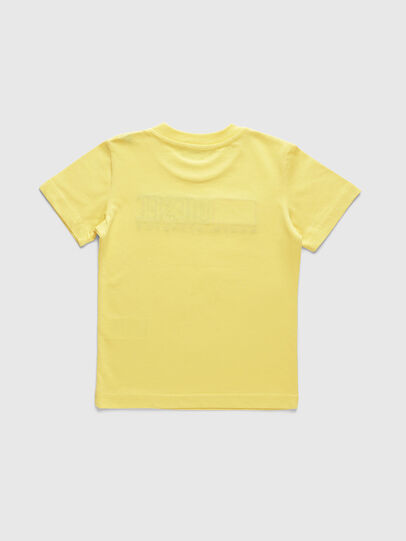 Diesel - TJUSTDIVISIONB-R, Yellow - T-shirts and Tops - Image 2