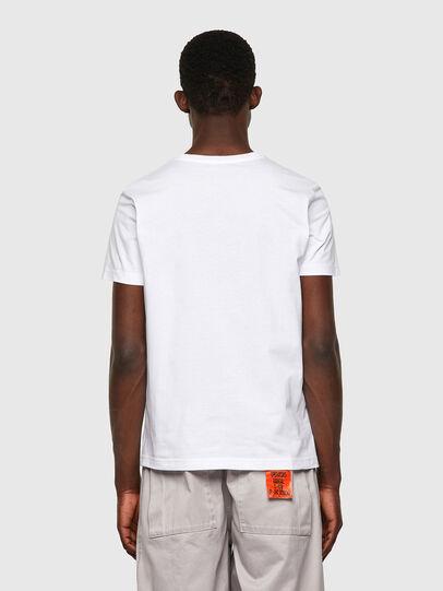 Diesel - T-DIEGOS-K23, White - T-Shirts - Image 2