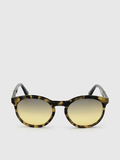 Diesel - DL0310, Black/Yellow - Sunglasses - Image 1