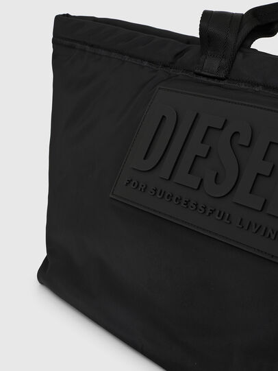 Diesel - SHOPPYE, Black - Shopping and Shoulder Bags - Image 5