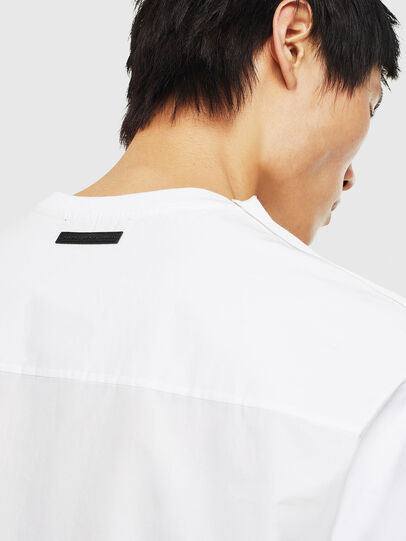 Diesel - T-ZAFIR, White - T-Shirts - Image 5