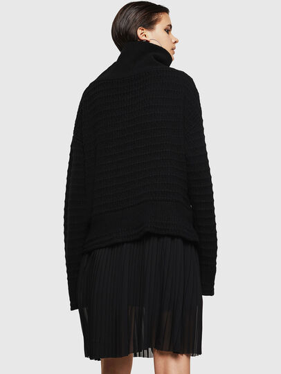 Diesel - MELLEY, Black - Knitwear - Image 2