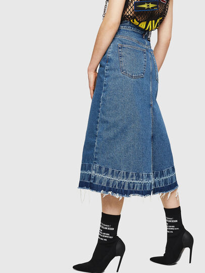 Diesel - DE-INGRID, Medium blue - Skirts - Image 5