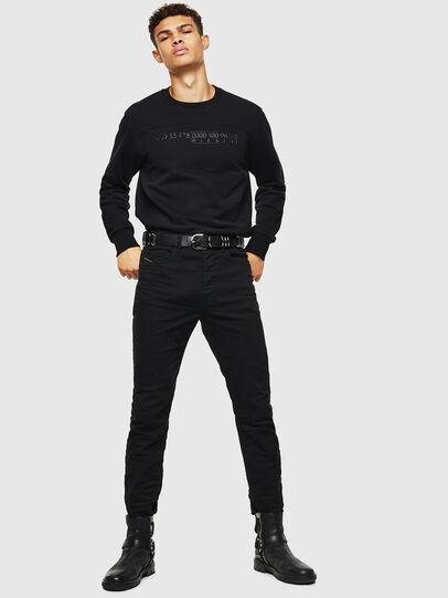 Diesel - S-CORY, Black - Sweaters - Image 4