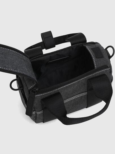 Diesel - MINI DUFFLE, Dark grey - Bags - Image 4