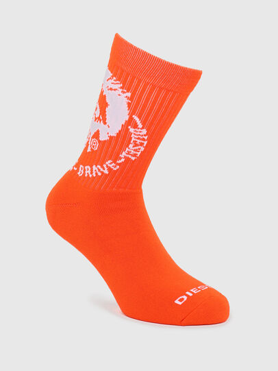 Diesel - SKM-RAY, Orange - Socks - Image 1