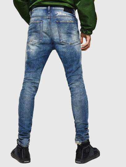 Diesel - D-Reeft JoggJeans 0870Q, Medium blue - Jeans - Image 2