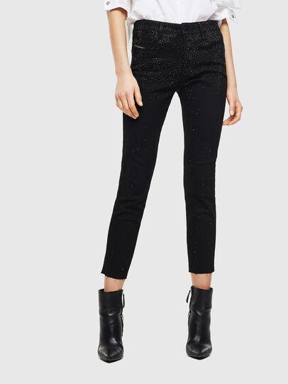 Diesel - Babhila 0093R, Black/Dark grey - Jeans - Image 1