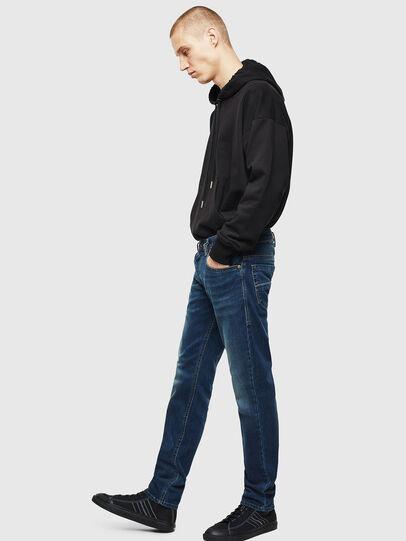 Diesel - Thommer 084BU, Dark Blue - Jeans - Image 5