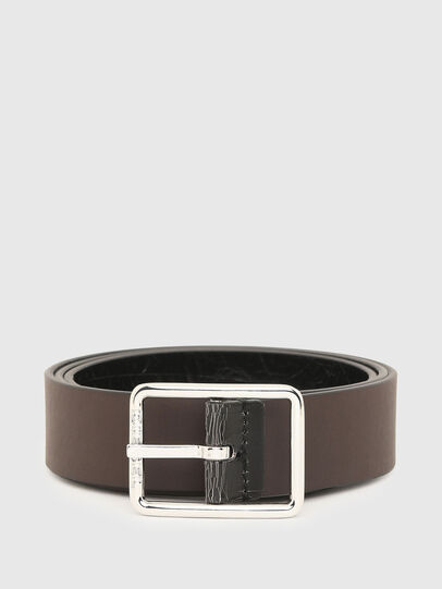 Diesel - B-PHOTO, Black/Brown - Belts - Image 4