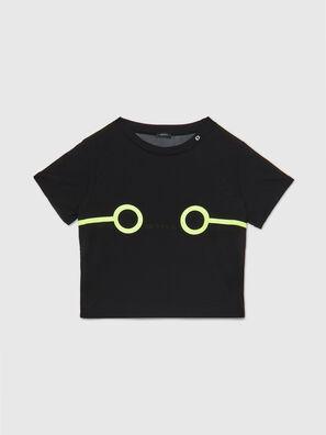 UFTEE-ROUNDFEM-M, Black - T-Shirts