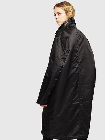 Diesel - W-ADAM, Black - Winter Jackets - Image 4