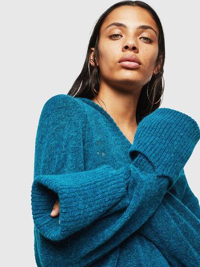 Diesel - M-NOELIA, Blue Marine - Knitwear - Image 3