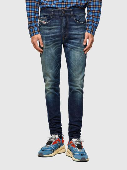 Diesel - D-Amny 09A27, Dark Blue - Jeans - Image 1