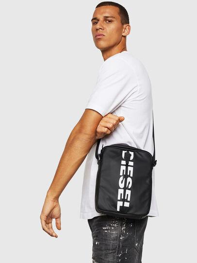 Diesel - F-BOLD SMALL CROSS, Black - Crossbody Bags - Image 6