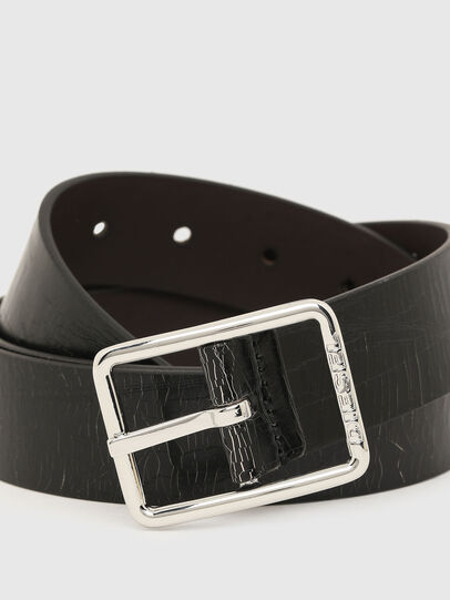 Diesel - B-PHOTO, Black/Brown - Belts - Image 2