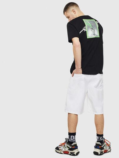 Diesel - T-JUST-T11, Black - T-Shirts - Image 4
