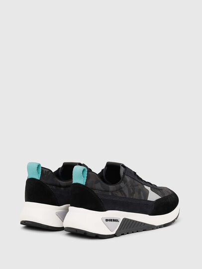 Diesel - S-KB LOW LACE II, Black/Dark grey - Sneakers - Image 3