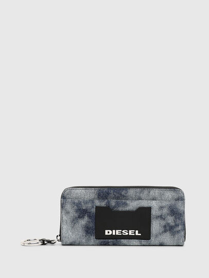 Diesel - ALLIUM, Blue Jeans - Zip-Round Wallets - Image 1