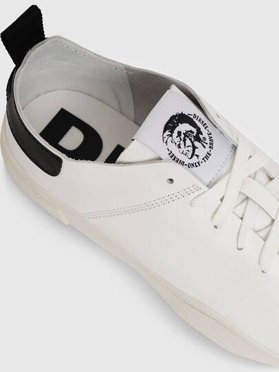 Diesel - S-CLEVER LS, White/Black - Sneakers - Image 4