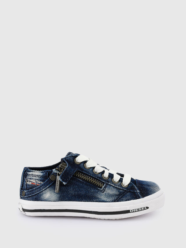 KIDS SN LOW 25 DENIM EXPO, Blue Jeans - Footwear - Image 1