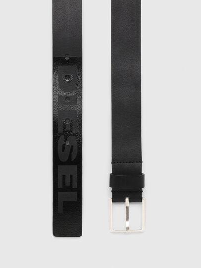 Diesel - B-PRINT, Black - Belts - Image 3