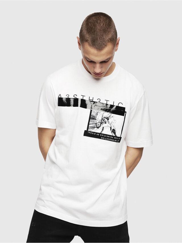 9cb901827b9fc5 T-JUST-YP Men: A3sth3tic regular fit T-Shirt | Diesel