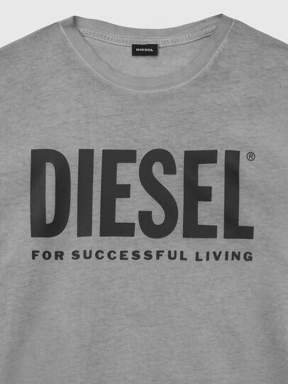Diesel - T-SILY-WX, Dark grey - T-Shirts - Image 3