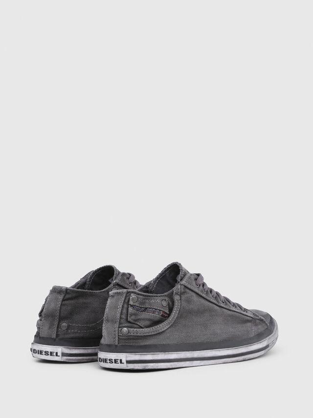 Diesel EXPOSURE LOW I, Metal Grey - Sneakers - Image 3