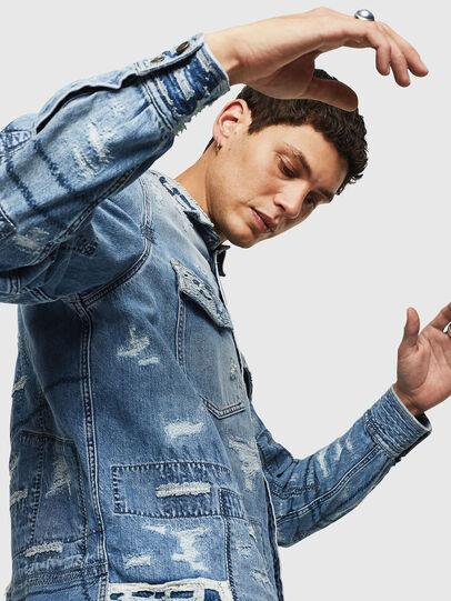Diesel - D-HISAKY-SY, Blue Jeans - Denim Shirts - Image 5