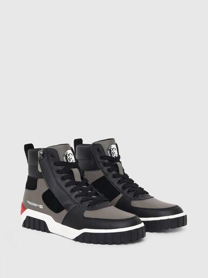 Diesel - S-RUA MID SK, Grey - Sneakers - Image 2