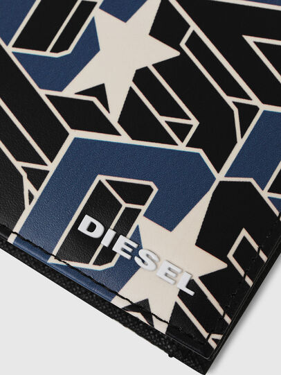 Diesel - HIRESH S, Black/Blue - Small Wallets - Image 4