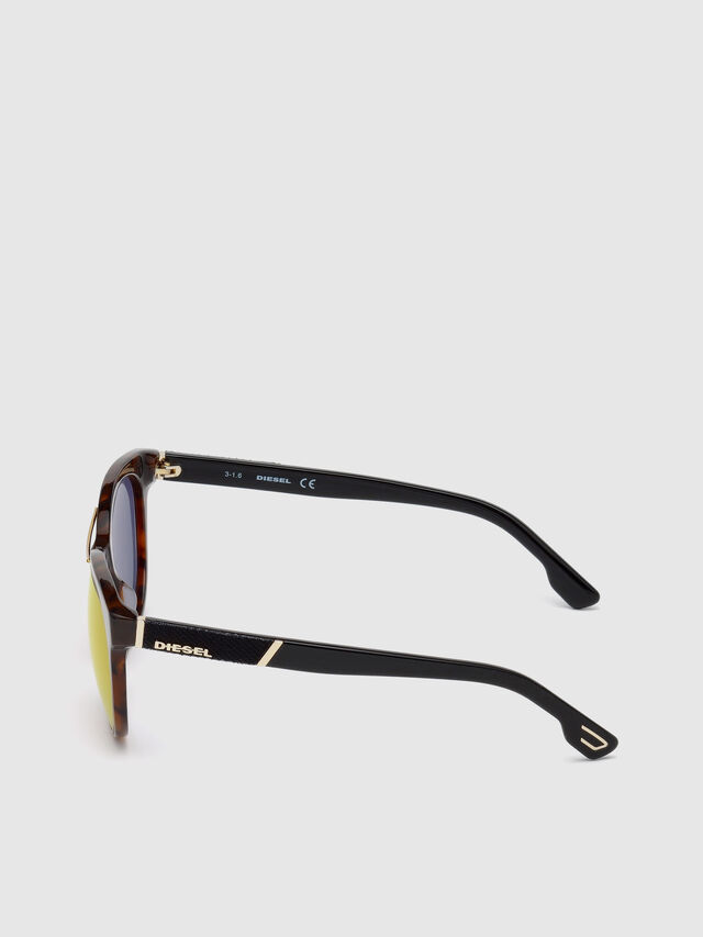 Diesel DL0213, Brown - Eyewear - Image 3