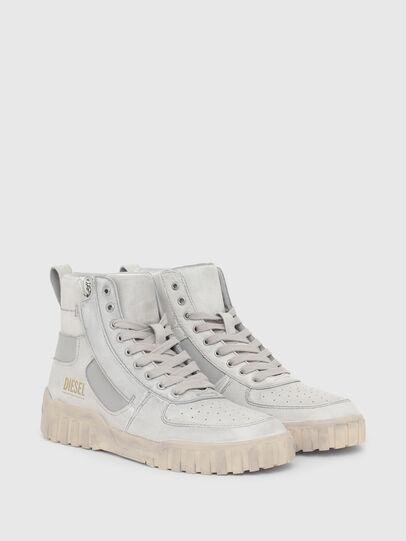 Diesel - S-RUA MID SK, White - Sneakers - Image 2