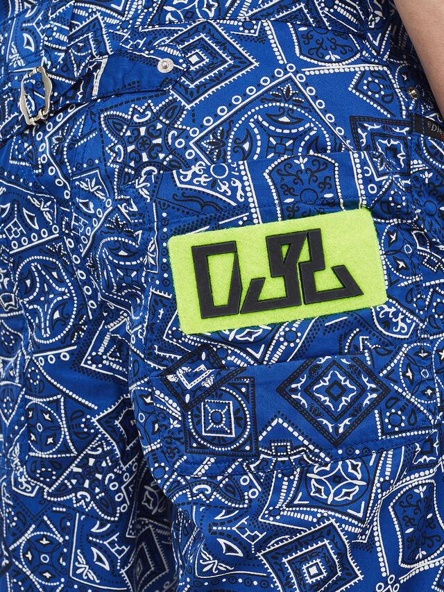Diesel - P-FRANK-DNM-SHORT-P, Blue - Shorts - Image 3