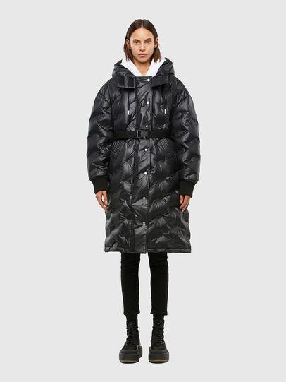 Diesel - W-LALLA, Black - Winter Jackets - Image 1