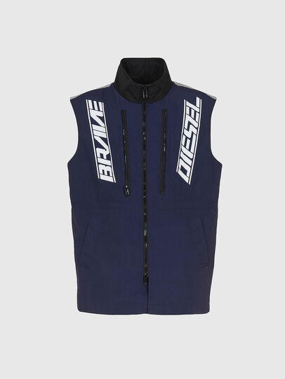 Diesel - W-KOON, Blue/Grey - Winter Jackets - Image 5