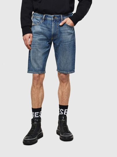 Diesel - THOSHORT, Medium blue - Shorts - Image 1