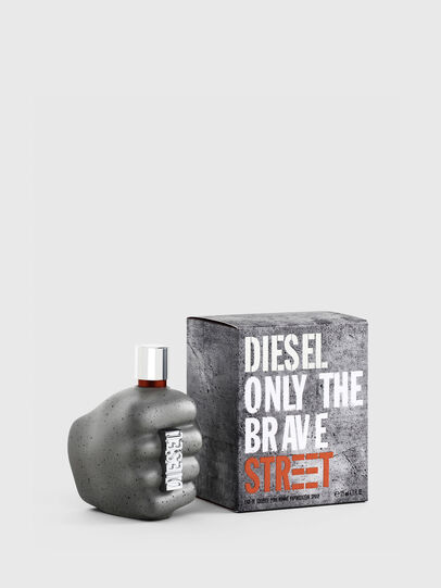 Diesel - ONLY THE BRAVE STREET 125ML, Grey - Only The Brave - Image 1