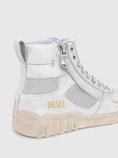 Diesel - S-RUA MID SK, White - Sneakers - Image 4