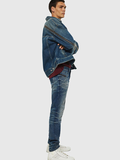Diesel - D-Bazer 0090D, Medium blue - Jeans - Image 7