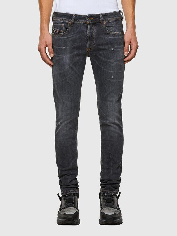 Sleenker 009DJ, Black/Dark grey - Jeans