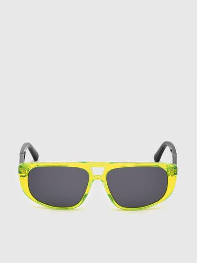 Diesel - DL0306, Yellow Fluo - Kid Eyewear - Image 1