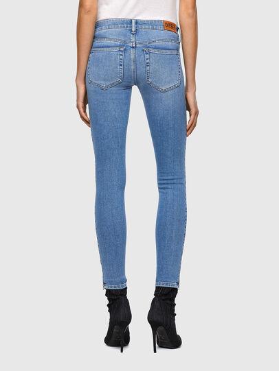 Diesel - Slandy Low 009ZY, Light Blue - Jeans - Image 2