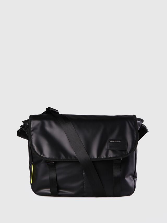 Diesel F-DISCOVER MESSENGER, Black - Crossbody Bags - Image 1
