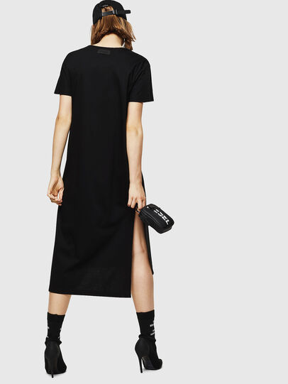 Diesel - D-FELIX-LONG, Black - Dresses - Image 2