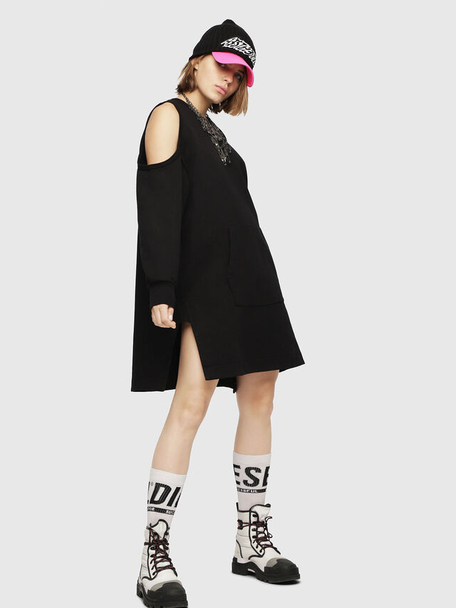 Diesel - D-EMA, Black - Dresses - Image 1